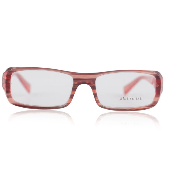 Alain Mikli Red Orange Unisex Mint Striped Eyeglasses Mod. A0408 08 50/17