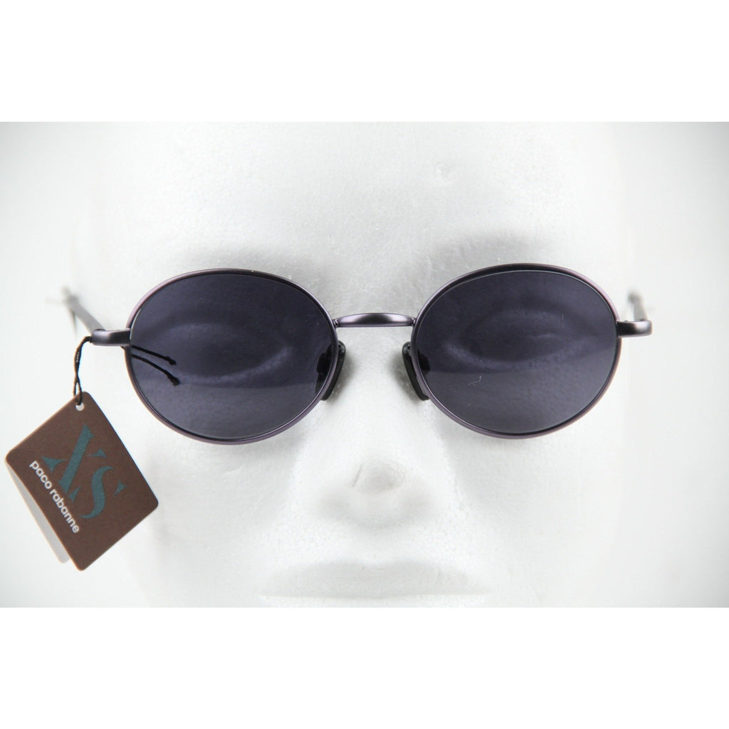 Paco Rabanne Blue Oval Small Unisex Sunglasses mod. XS 318 47mm