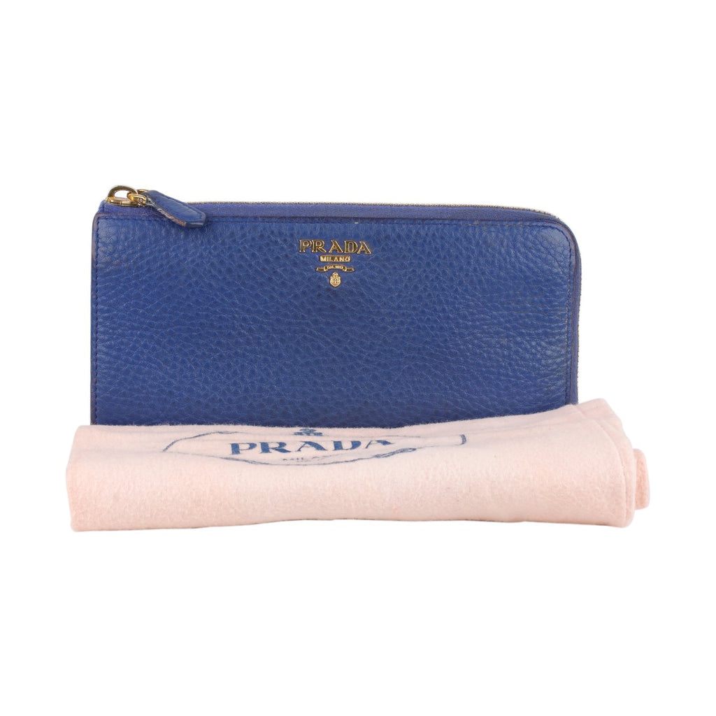 Prada Continental L- Shaped Wallet