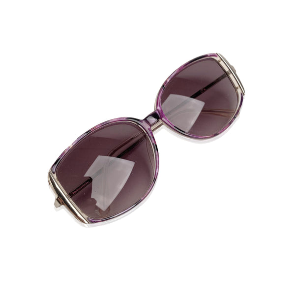 Safilo Vintage Purple Sunglasses Emozioni 346 55-15 135mm Made in Italy