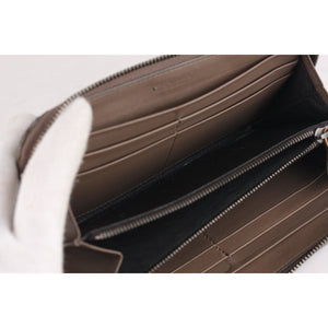 Intrecciato Zip Around Continental Wallet