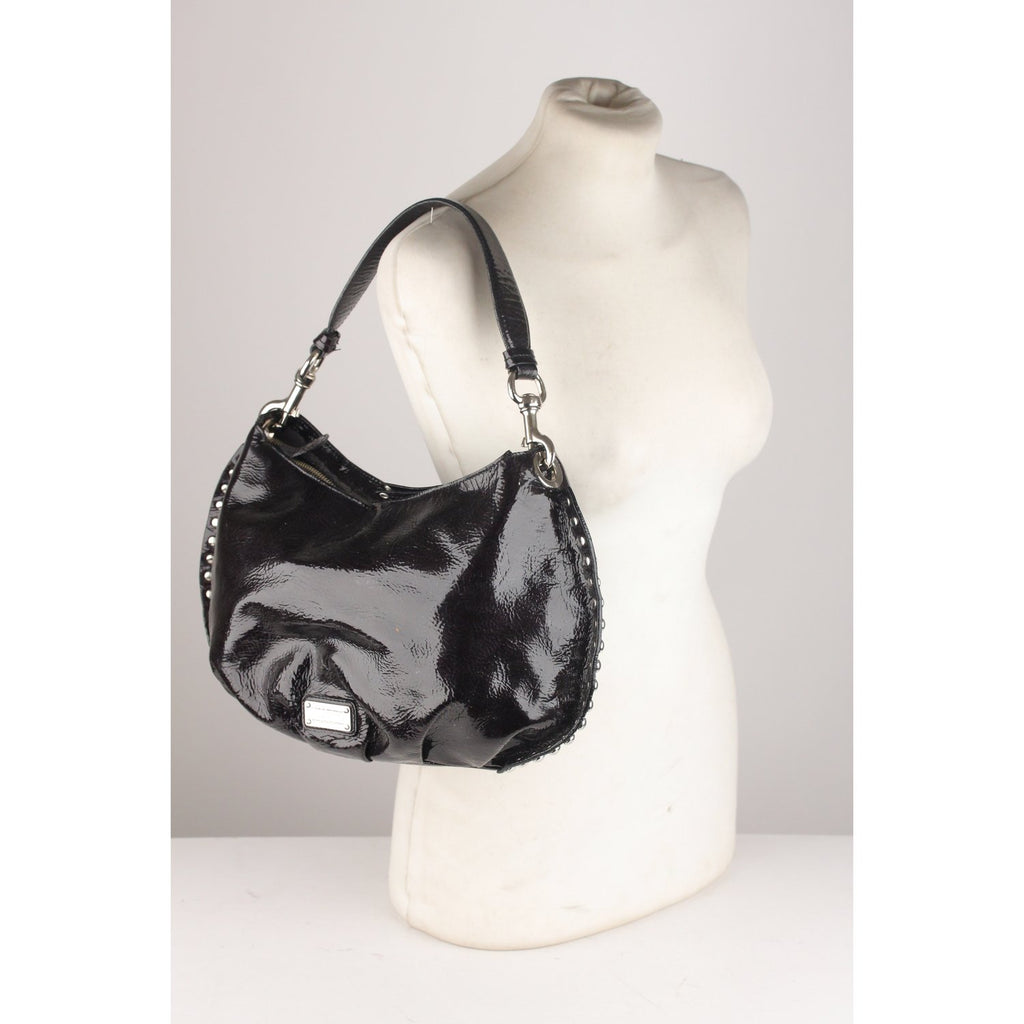 Vinyl Tote Shoulder Bag