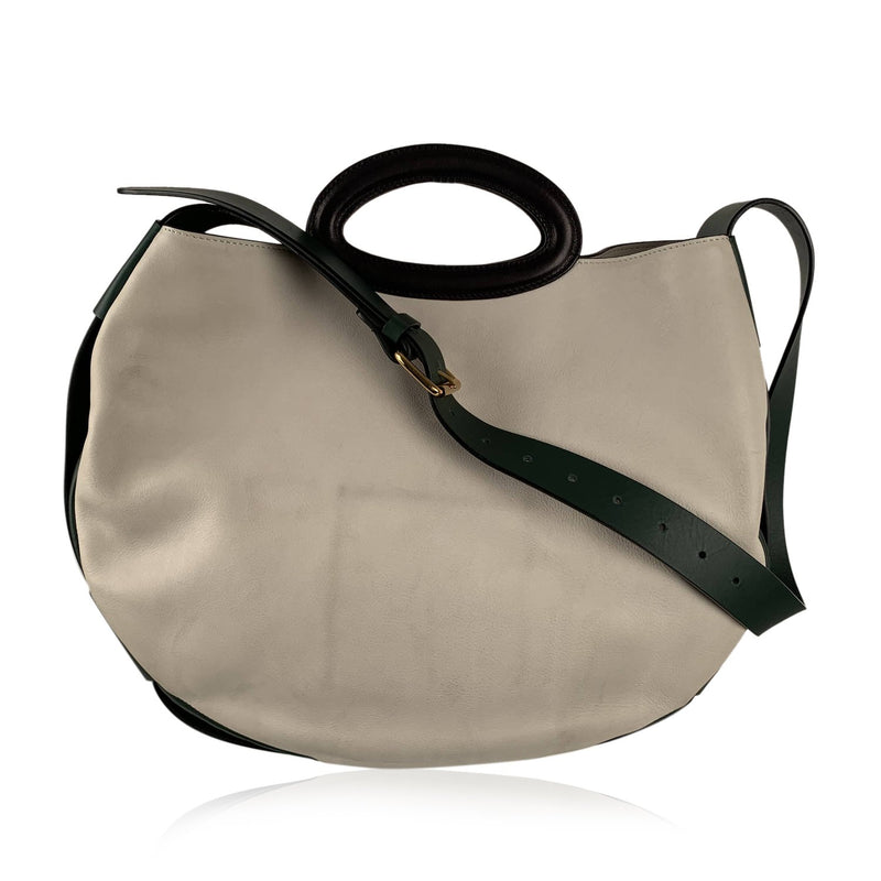 Marni Round Top Handles Shoulder Bag