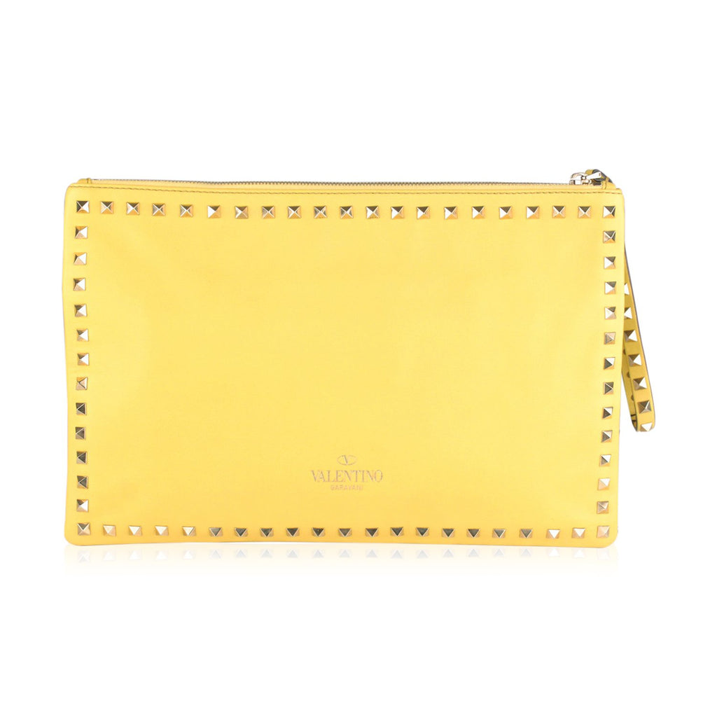 Rockstud Large Clutch Wrist Bag