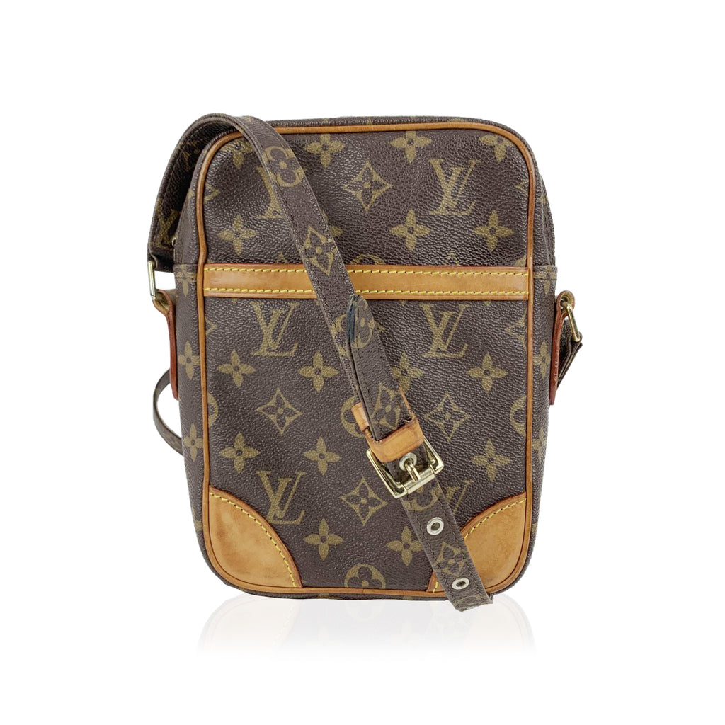 Louis Vuitton Brown Monogram Canvas Amazone Messenger Crossbody Bag