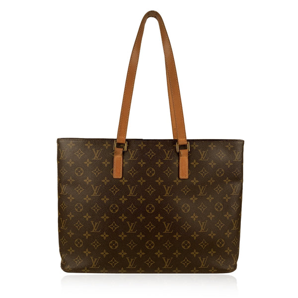 Louis Vuitton Brown Monogram Canvas Luco Tote Shoulder Bag