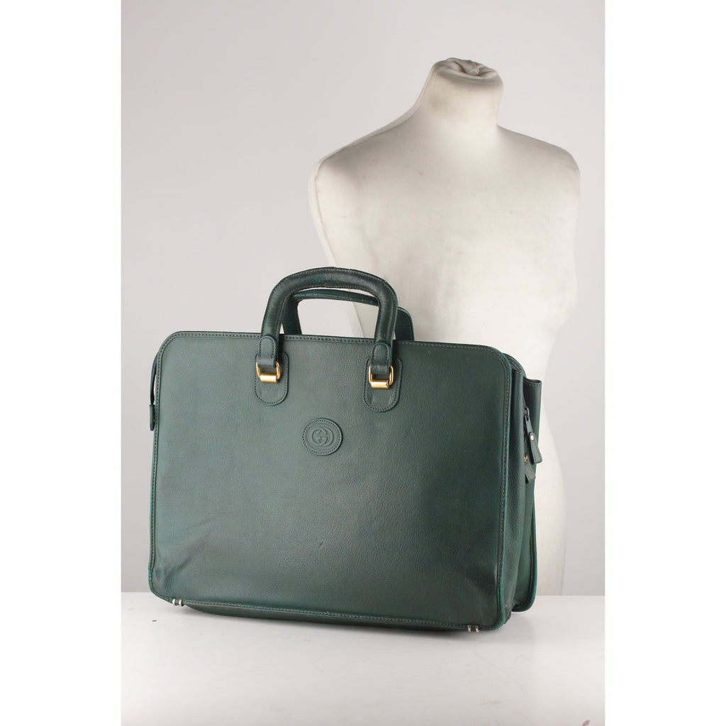 Gucci Vintage Briefcase Business Bag