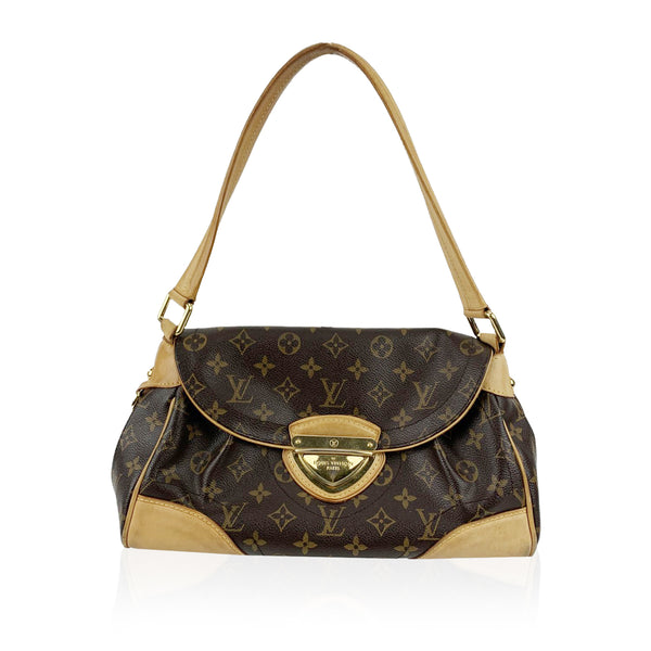 Louis Vuitton Monogram Canvas Beverly MM Shoulder Bag Tote