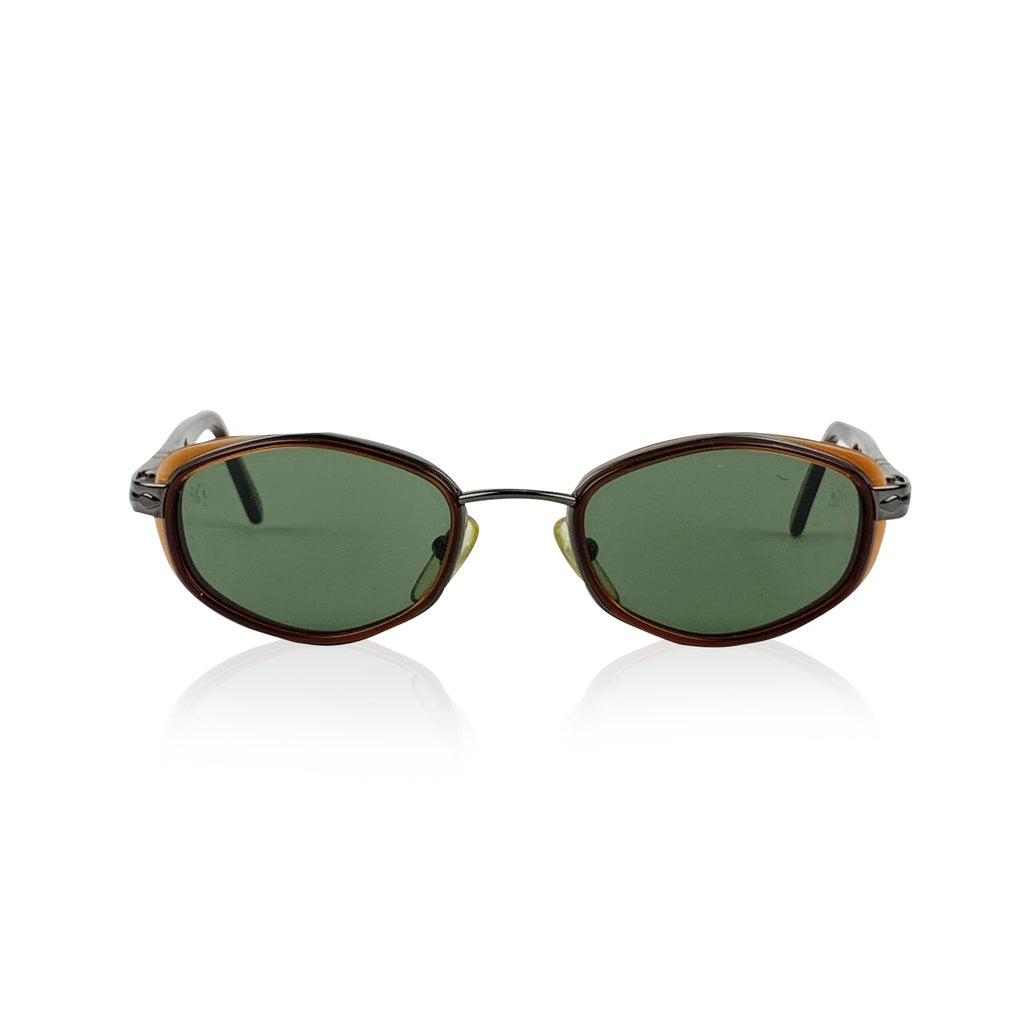 Persol Vintage Mint Oval Black 2063-S Sunglasses 49/20 130 mm