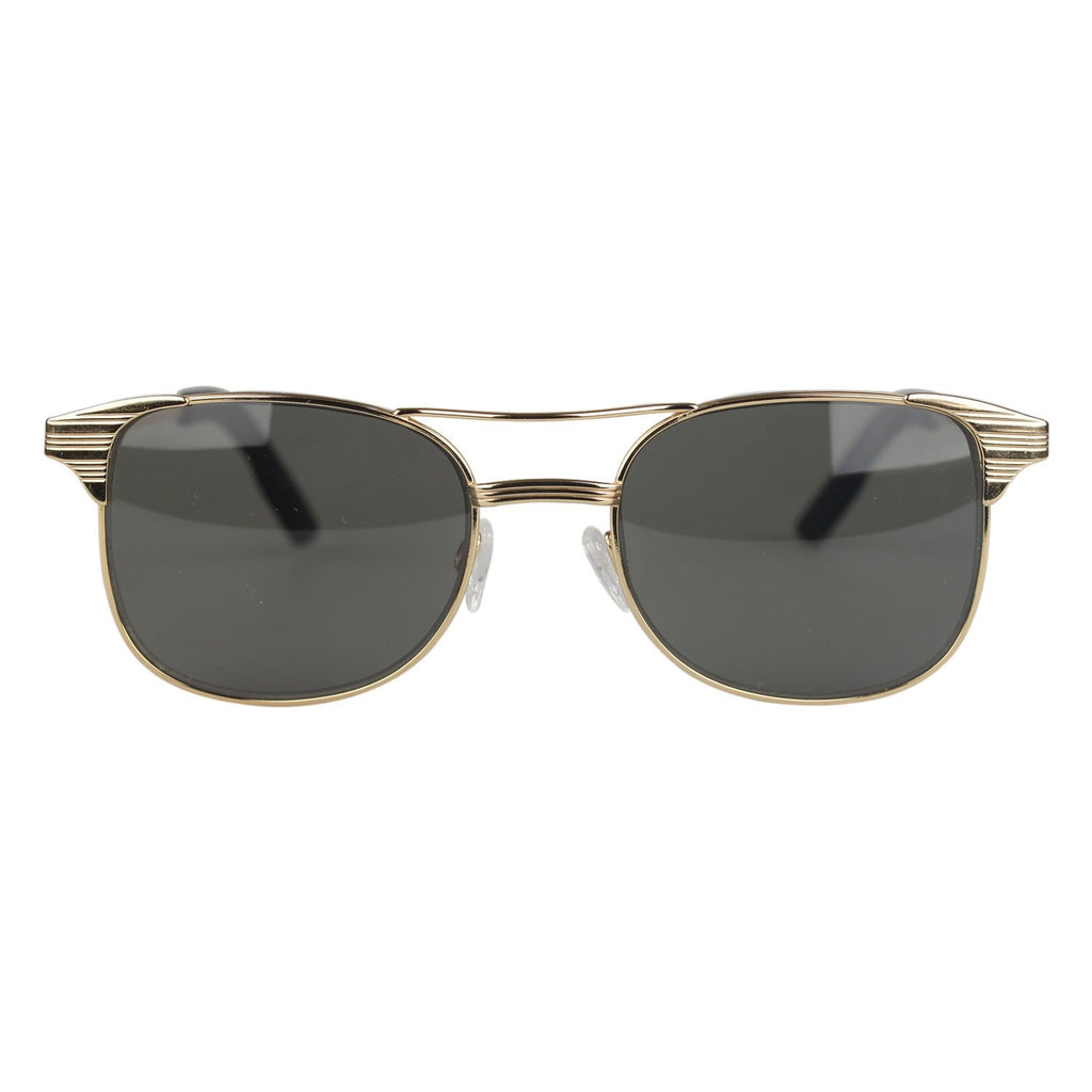 Aviator Sunglasses Mineral Glass LAUREN Green Lenses