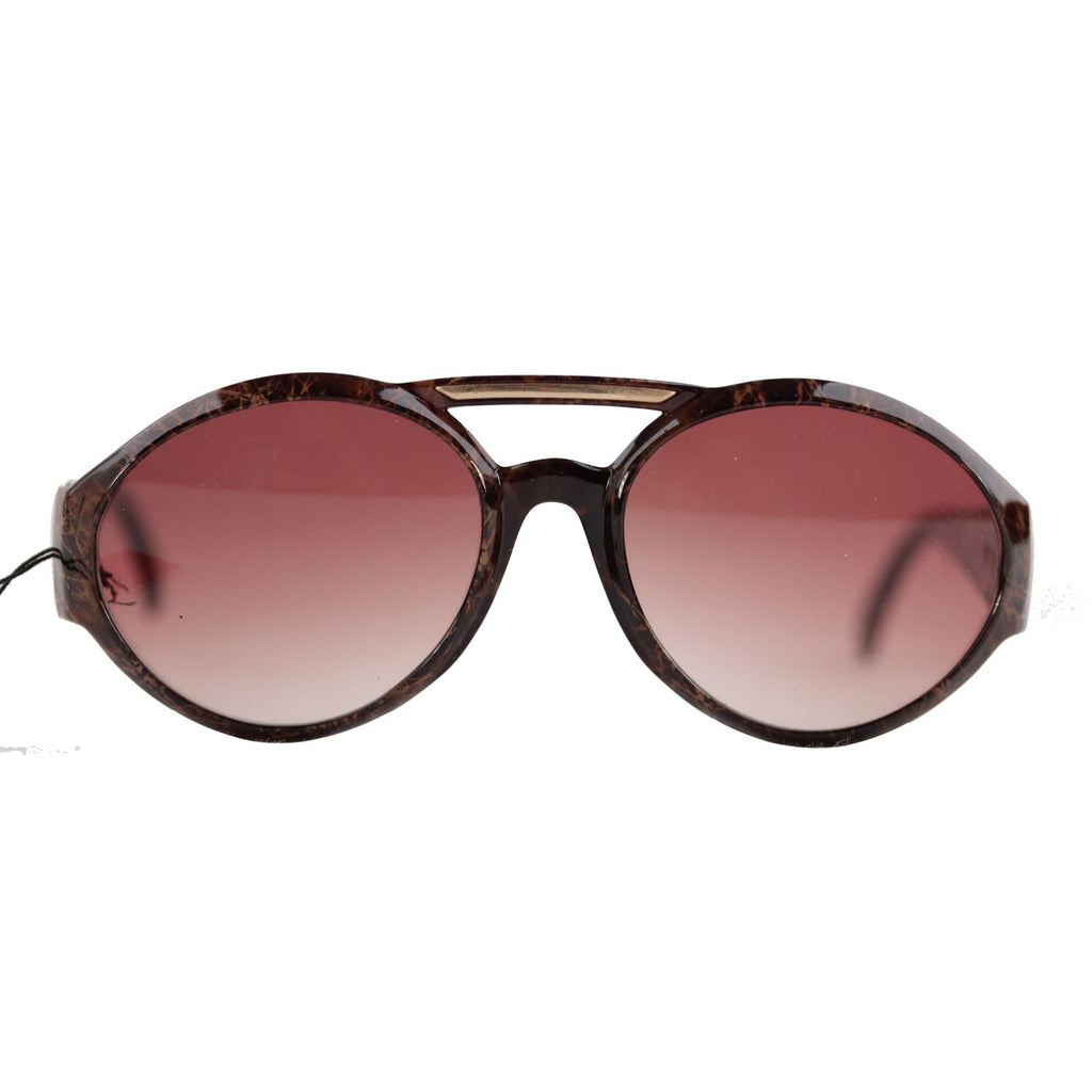 Charles Jourdan Vintage Brown Oversized Mint Sunglasses Mod. 8935-O