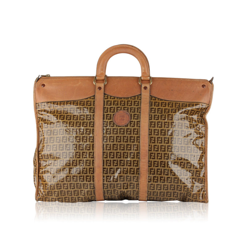 Fendi Vintage  Monogram Travel Bag