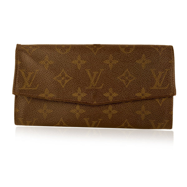 Louis Vuitton Vintage Brown Monogram Continental Mod. Emilie