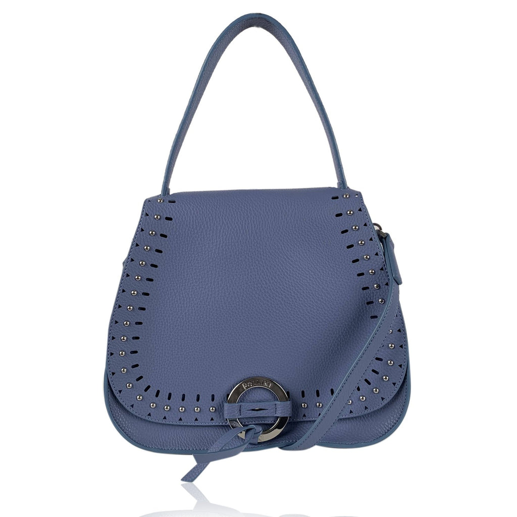 Pollini Flap Shoulder Bag with Studs