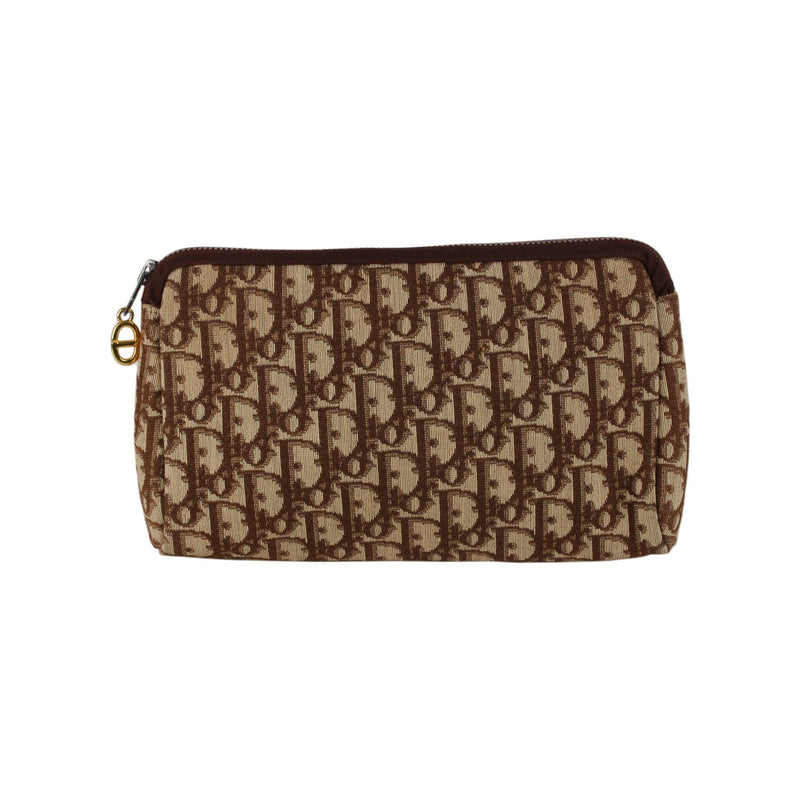 Christian Dior Logo Tapestry Clutch