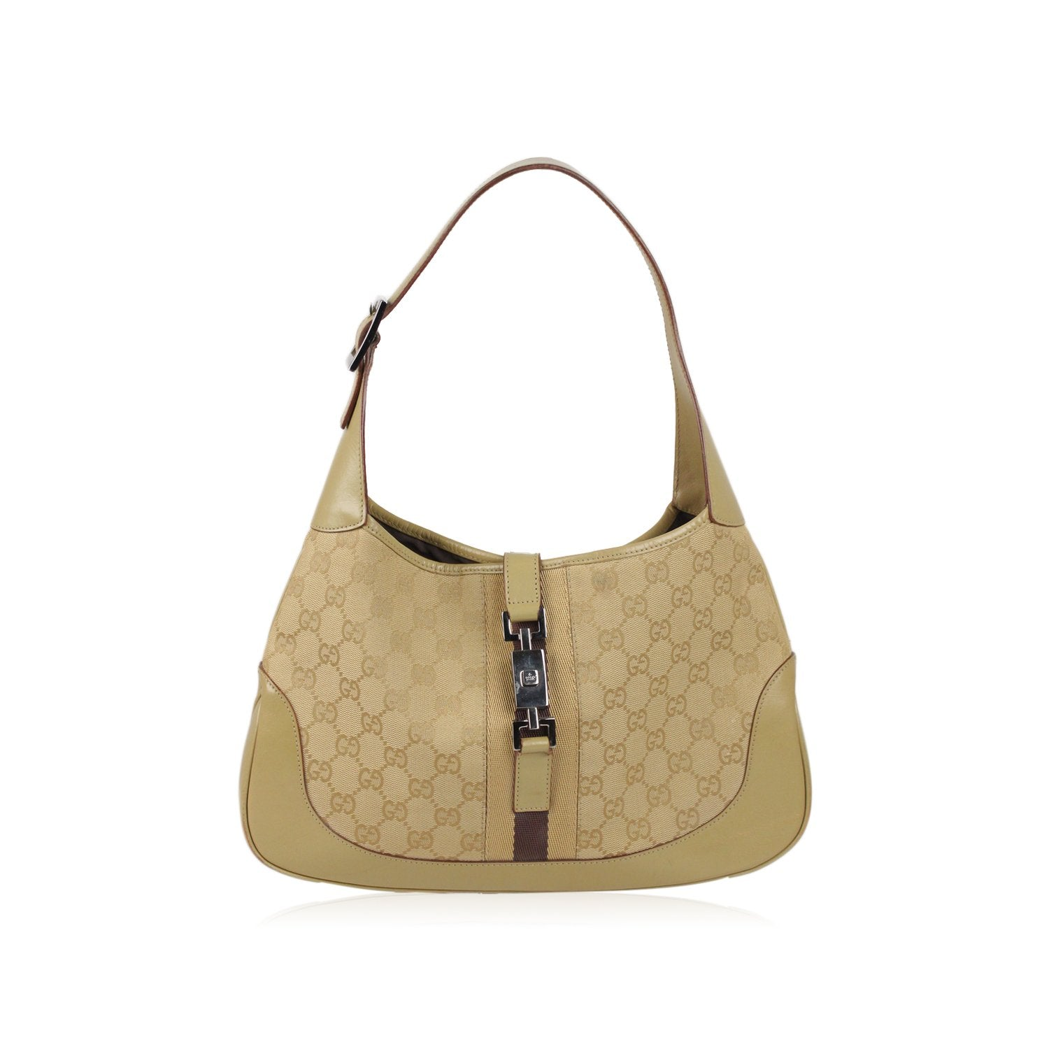 5767ad0e1c3 Enjoy Gucci Monogram Canvas Hobo Jackie O Bag at OPHERTYCIOCCI – OPHERTY    CIOCCI