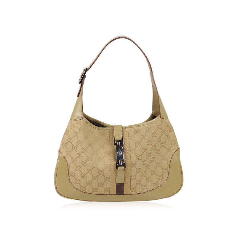 Monogram Canvas Hobo Jackie O Bag