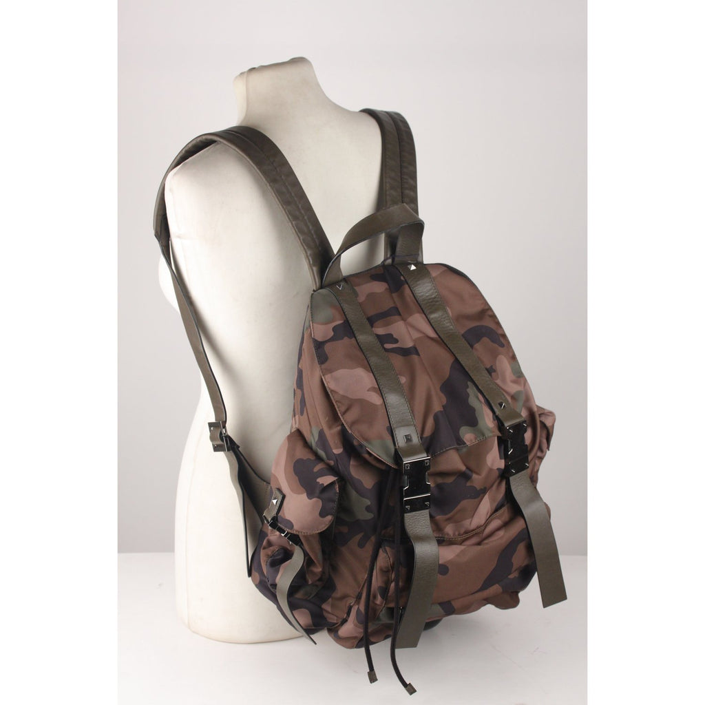Camo Rockstud Backpack