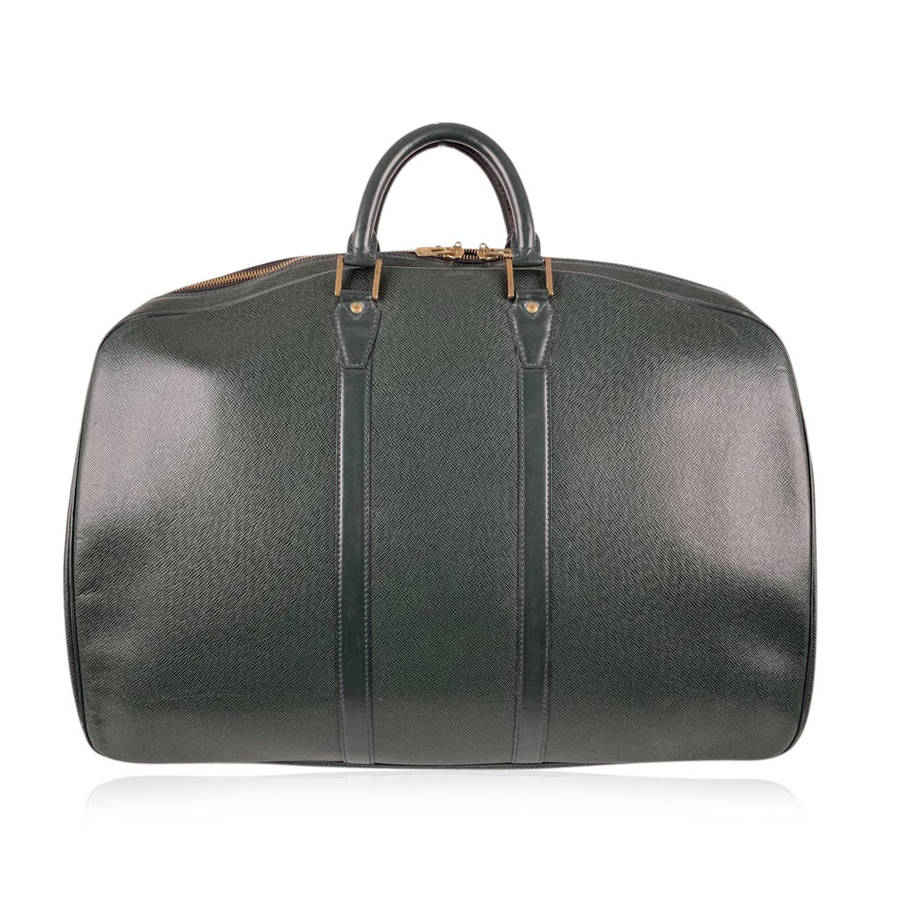 Louis Vuitton Vintage Taiga Leather Helanga Suitcase