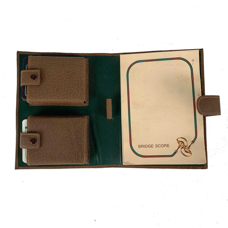 Gucci Vintage Gaming Bridge Set