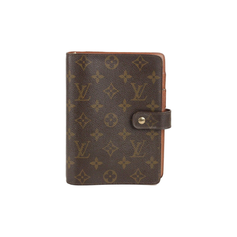 Monogram 6 Ring Agenda Cover