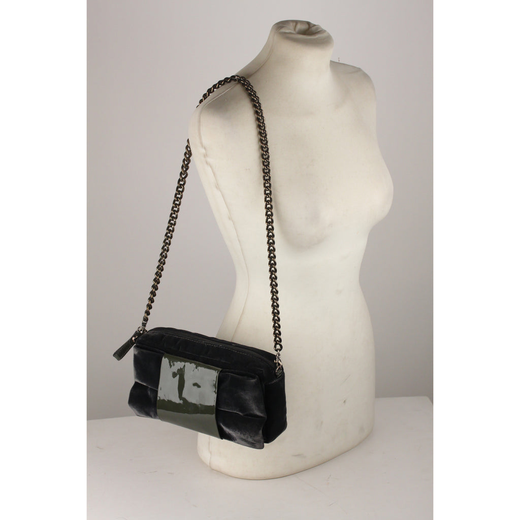 Shoulder Bag with Bow Accent