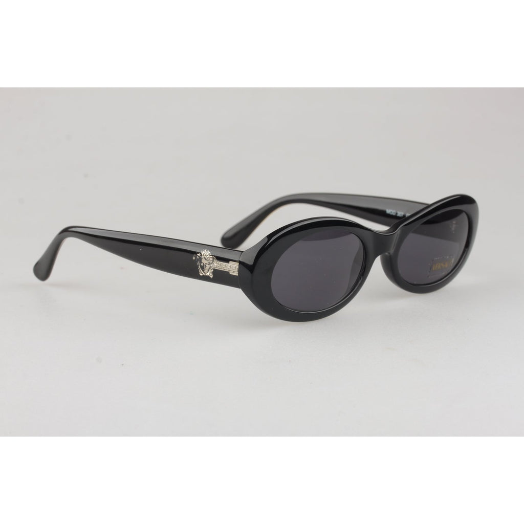 Versace Vintage Black Sunglasses Mod 307 Col 451 50mm