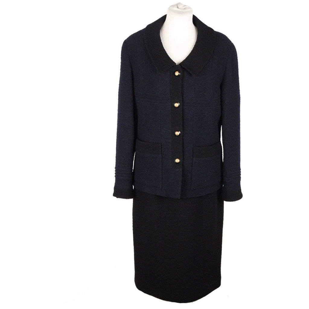 Chanel Vintage Skirt Suit Size 42