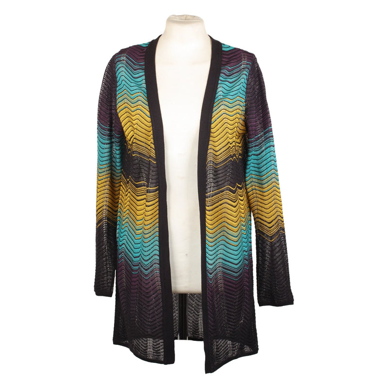 M Missoni Open Front Cardigan Size 40
