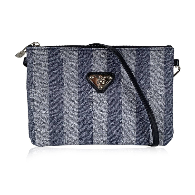 Maison Mollerus Small Striped Messenger Bag
