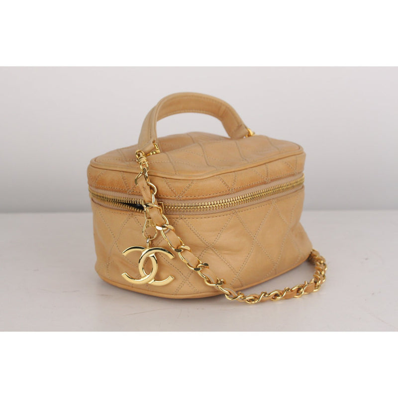 Vintage 2 Way Vanity Bag with Chain Strap