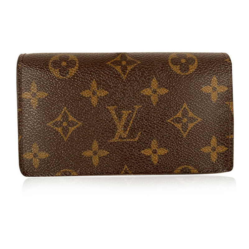 Louis Vuitton Louis Vuitton Monogram Brown Folded Wallet and Coin Purse with zipper
