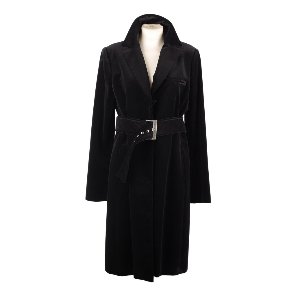 Laltramoda  Classic Coat with Belted Waist Size 46 - OPHERTY & CIOCCI