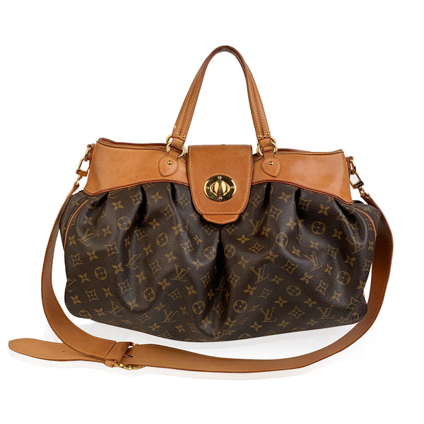 Louis Vuitton Monogram Canvas Boatie GM Tote Bag with Strap