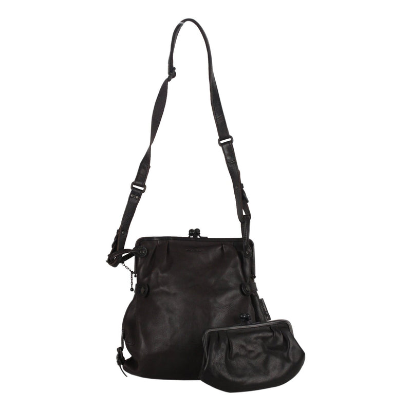 Framed Crossbody Messenger Bag