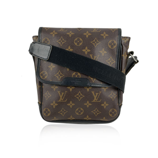 Louis Vuitton Monogram Macassar Bass PM Messenger Bag