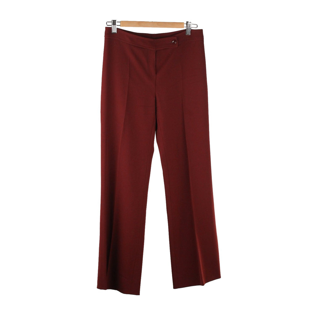 Central Pleat Pants Trousers