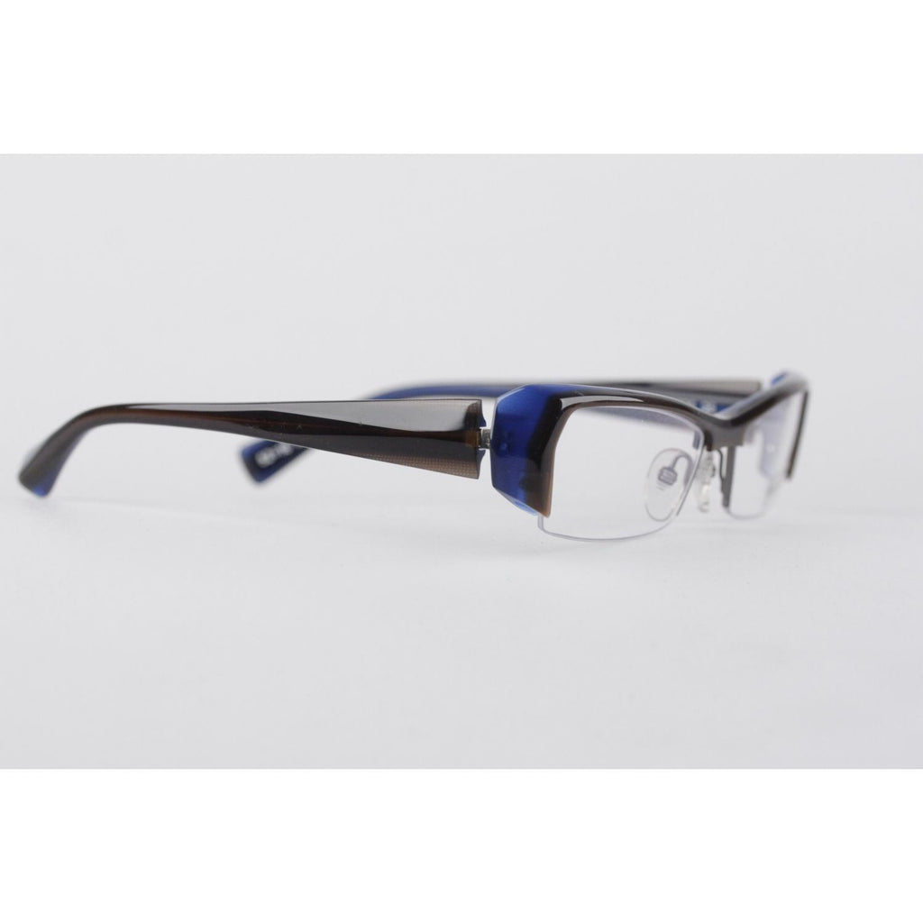 Alain Mikli Blue Brown Flex Eyeglasses A0636 52-16Mm Opherty & Ciocci