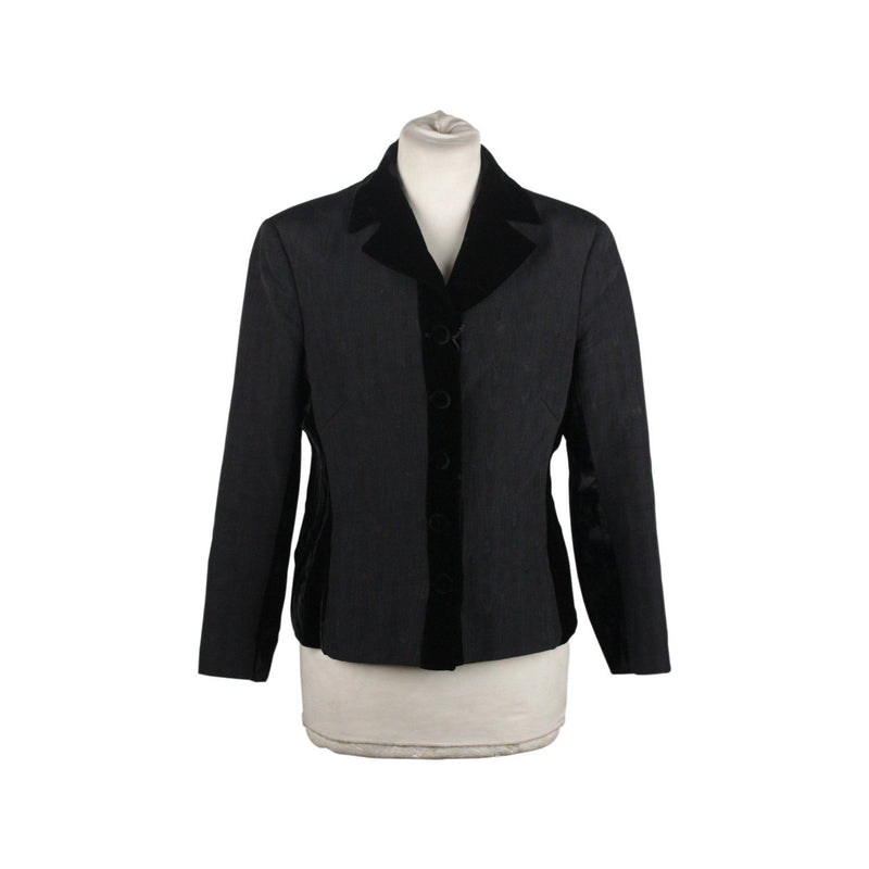 Blazer Jacket With Velvet Trim Opherty & Ciocci