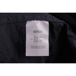 ALBERTO ASPESI ASP351 Blue Nylon WINDBREAKER JACKET w/ Belt