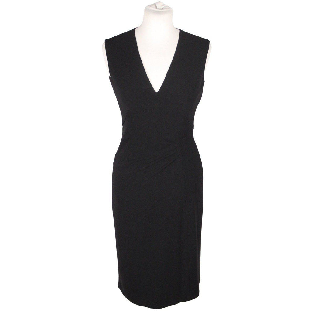 Alberto Biani Black Little Black Dress Sleeveless Size 40 Opherty & Ciocci