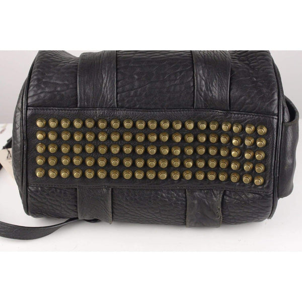 Rocco Duffle Bag With Studs Opherty & Ciocci