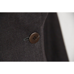 Antonio Fusco Gray Wool Blend Suit Blazer & Trousers Set Size 40 Opherty & Ciocci