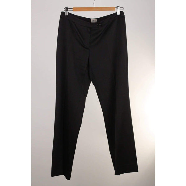 Black Wool Pants Trousers Size 40 Opherty & Ciocci