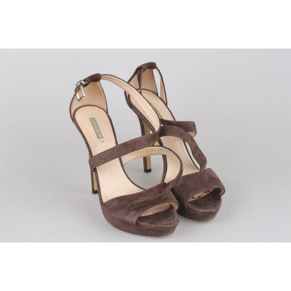 Suede Heeled Sandals Opherty & Ciocci