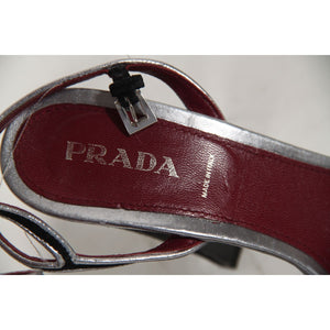 Prada Heeled Sandals Shoes Pumps Size 40