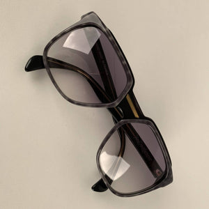 Yves Saint Laurent Vintage 80s Gray Marbled Sunglasses 8732 P096