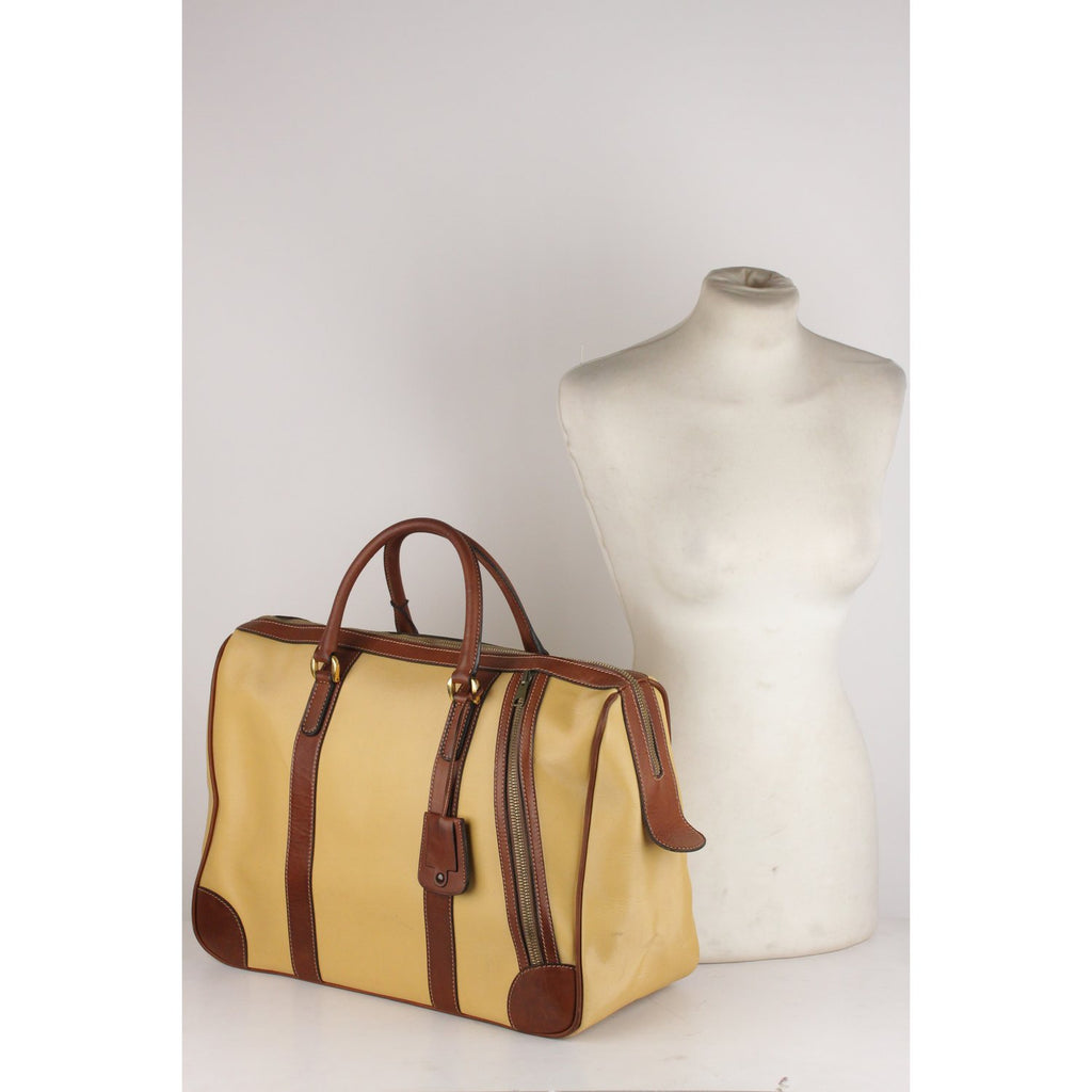 Vintage Travel Overnight Bag