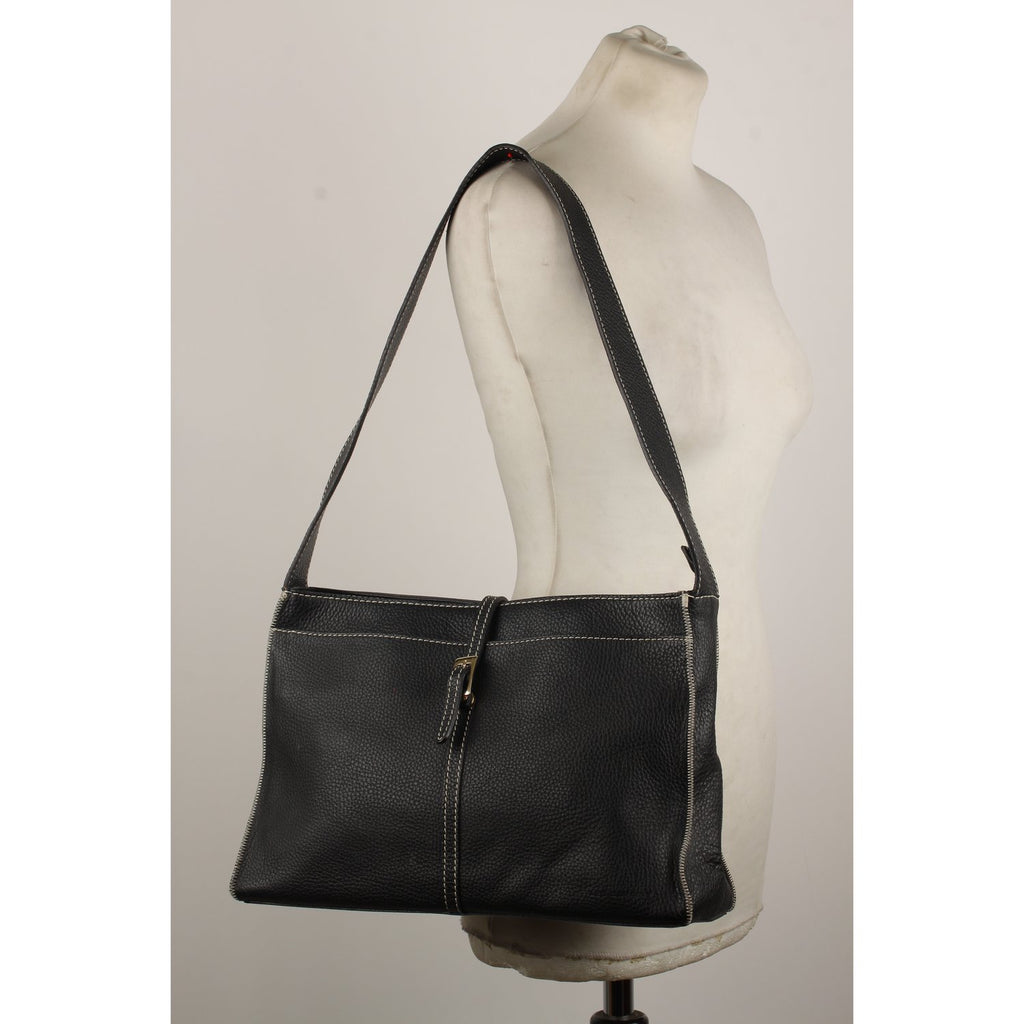 Les Copains Shoulder Bag with Contrast Stitchings