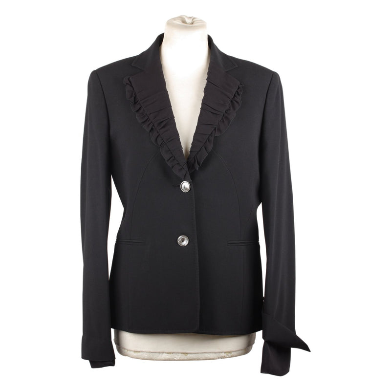 Blazer with Ruffled Lapels Size 42